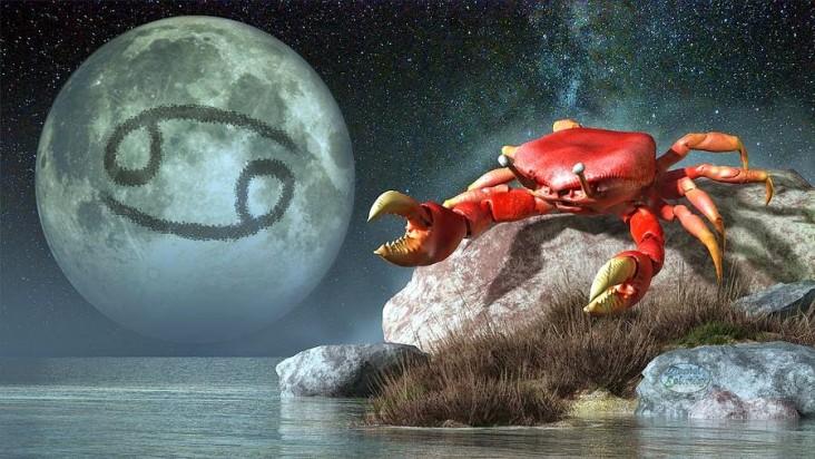 Gökyüzünde Bugün Ay Yengeç Burcunda