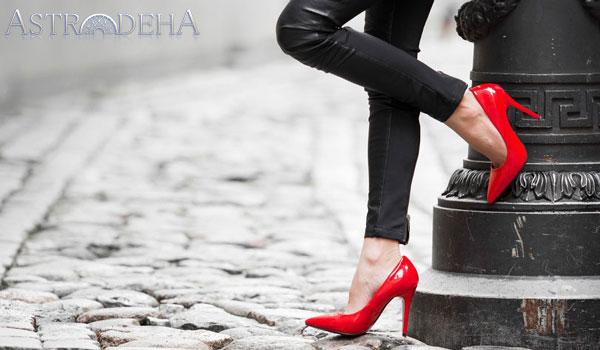 koç aslan yay erkeklerinin sevdiği kadın ayakkabısı