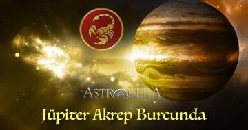 Jüpiter'in Akrep  Burcunda ki Transiti