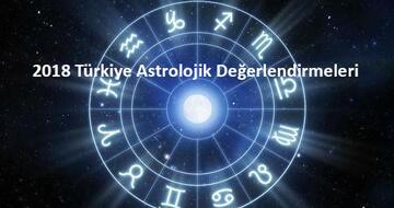 2018 Türkiye Astrolojik Degerlendirmeleri